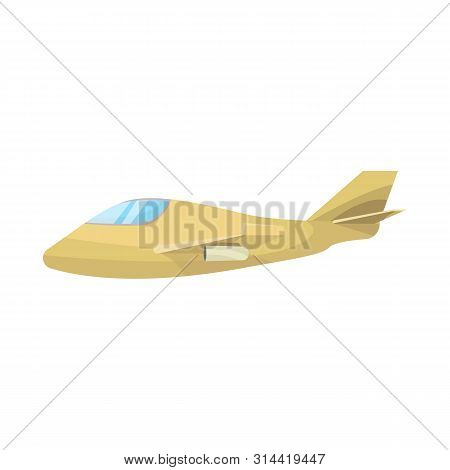 Isolated Object Of Aeroplane And Space Icon. Set Of Aeroplane And Airborne Stock Vector Illustration