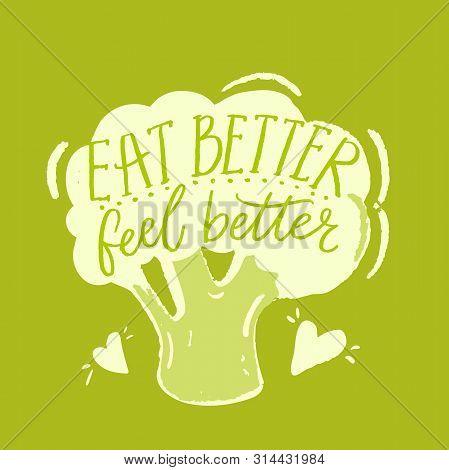 Eat Better, Feel Vector & Photo (Free Trial) | Bigstock