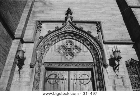 Embellished Church Door