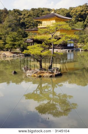 Japanese Temple In Kyoto
