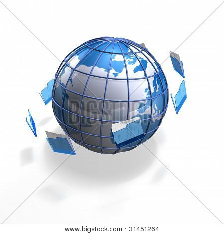 file globe