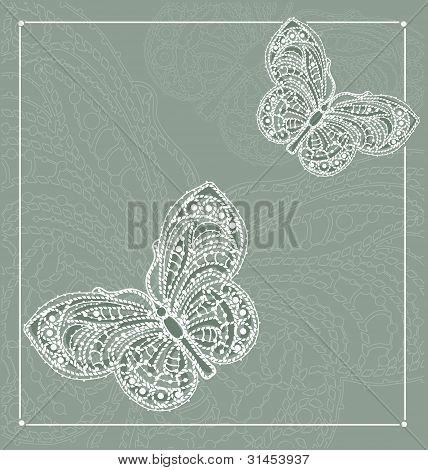lace postcard