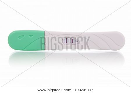 Pregnancy test - positive