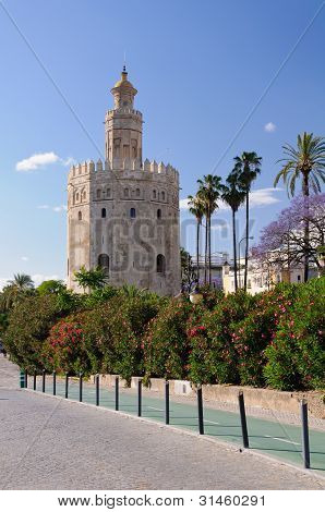 Torre De Oro - Sevilla, Spain.