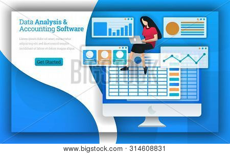 Accounting Firms Provides Data Analysis & Accounting Software Services, Virtual Bookkeeping And Quic