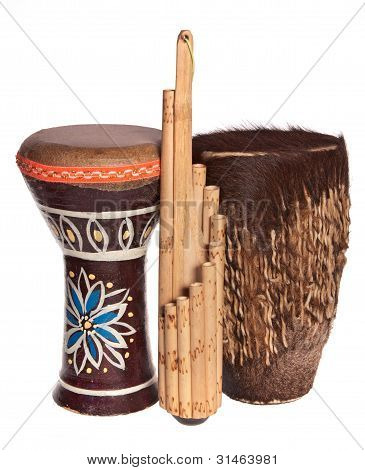 African Ethnic Musical Instruments