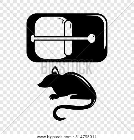 Mousetrap Icon. Simple Illustration Of Mousetrap Vector Icon For Web
