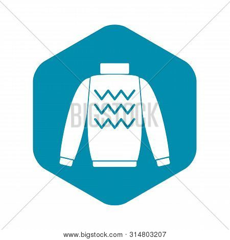 Pullover Icon. Simple Illustration Of Pullover Vector Icon For Web