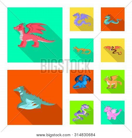 Vector Illustration Of Legend And Halloween Sign. Collection Of Legend And History Vector Icon For S