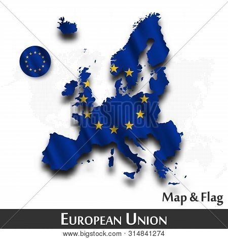 European Union Map Vector & Photo (Free Trial) | Bigstock