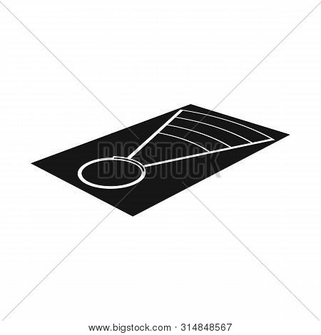 Vector Illustration Of Throwing And Ground Sign. Collection Of Throwing And Throwing Vector Icon For