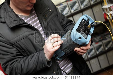 Expert With Telecom Analyzer