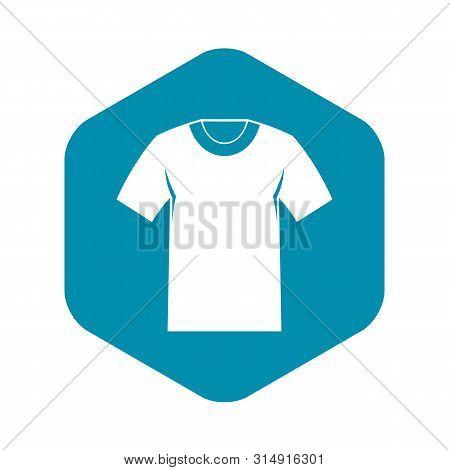 Tshirt Icon. Simple Illustration Of Tshirt Vector Icon For Web