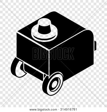 Welding Machine Icon. Simple Illustration Of Welding Machine Vector Icon For Web
