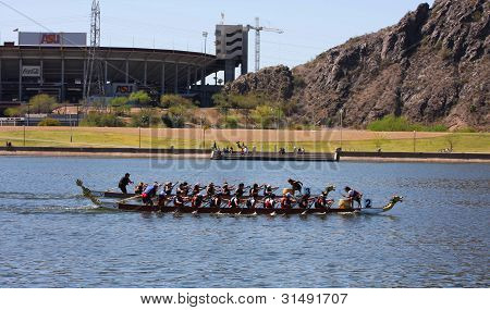 Arizona Dragon Boat Festival At Tempe Town Lake