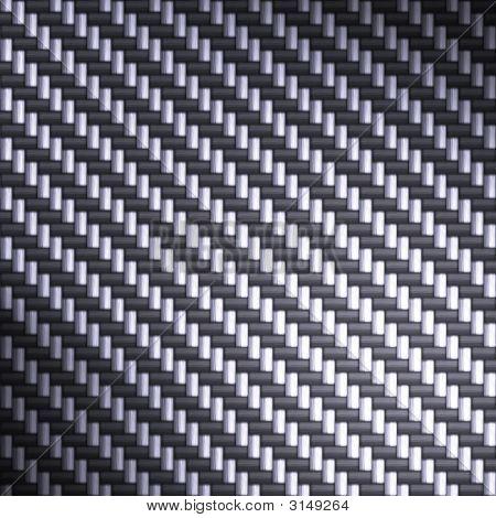 Blue Reflective Carbon Fiber