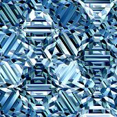 Blue ice crystal patterns texture suits for duplication of the background poster