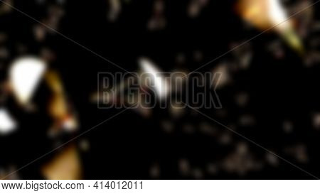 Triangle Shattered Glass Illustration Background .soft Focus Perspective , Suitable For Your Backgro