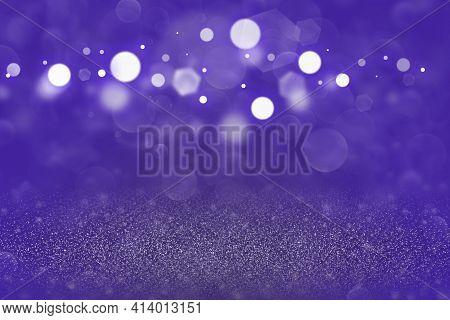 Purple Wonderful Sparkling Abstract Background Glitter Lights Defocused Bokeh - Festal Mockup Textur