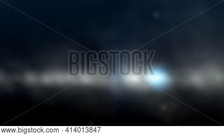 Space Final Frontier Illustration Background .soft Focus Perspective , Suitable For Your Background