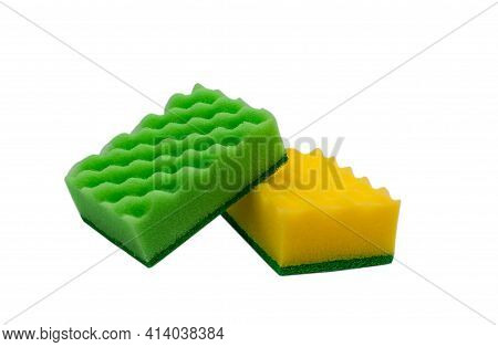 Kitchen Sponges. Dishwashing Sponges. Cleaner. Fiber Sponges