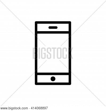 Smartphone Icon Isolated On White Background. Smartphone Icon In Trendy Design Style. Smartphone Vec