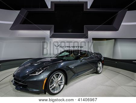 2014 Chevy Corvette Reveal