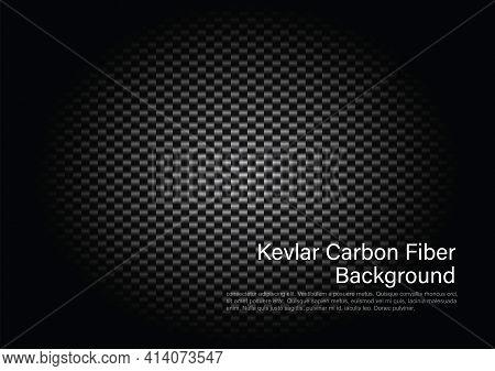 Kevlar Carbon Fiber Background. Vector Illustrator Eps 10.