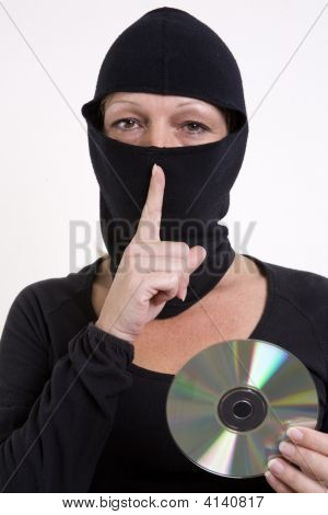 Data Thief With Cd