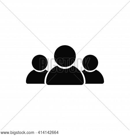 Group Icon Isolated On White Background. Group Icon In Trendy Design Style. Group Vector Icon Modern