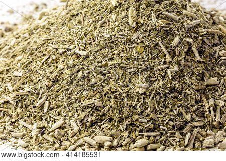 Yerba Mate, Also Called Mate Or Congonha, Consumed As Mate Tea, Chimarrão Or Tereré In Brazil, Parag