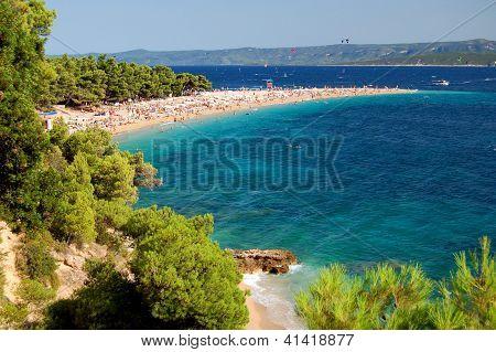 Golden Cape on Brac island in Croatia