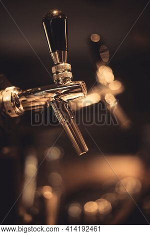 Beer Tap Close Up