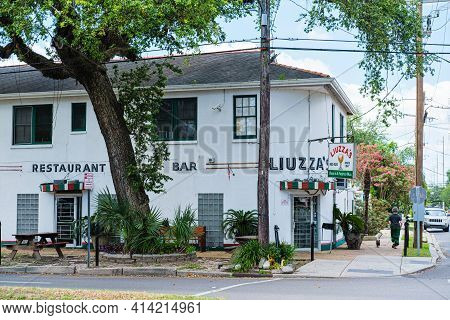 New Orleans, La, Usa - May 6, 2020: Famous Liuzza's Restaurant On May 6, 2020 In Mid City, New Orlea