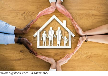 Family Insurance Protection And Roof Or Shelter