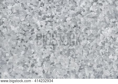 Galvanized Iron Detail Pattern, Abstract Metal Texture Background.