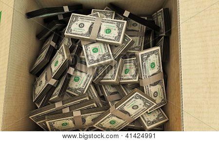 Dollars In A Box