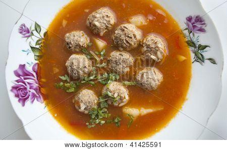 Soup Meatball