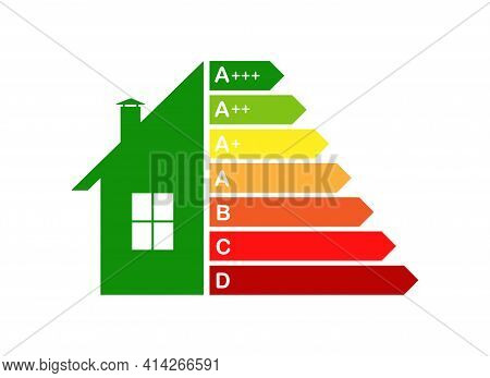 Energy-efficient House, The Concept Of Energy Efficiency Of Housing.