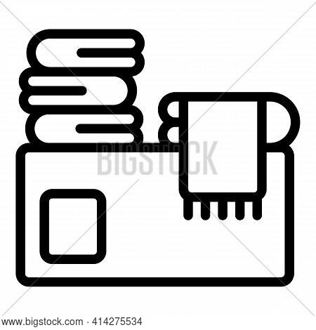 Charity Garment Icon. Outline Charity Garment Vector Icon For Web Design Isolated On White Backgroun