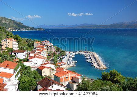summer croatian landscape
