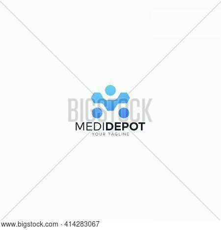 Human Simple Sport With M Logo Digital