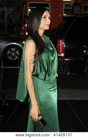 LOS ANGELES - JAN 24:  Famke Janssen arrives at the the 'Hansel And Gretel: Witch Hunters' premiere at the Chinese Theat theer on January 24, 2013 in Los Angeles, CA