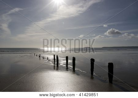 Sunshine Over The Youghal Coast