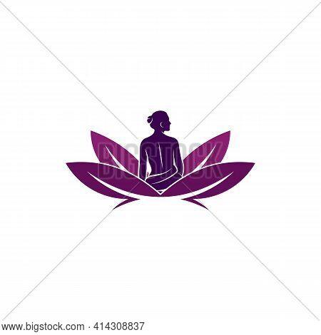 Beauty Spa Logo Design Vector Illustration, Creative Spa Logo Design Concept Template, Symbols Icons
