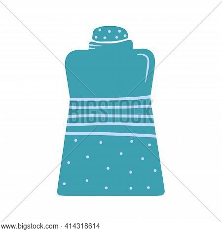 Hand Drawn Jar For Products Isolated On A White Background. Kitchen Utensils And Utensils. Illustrat