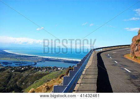 Road Turn Ocean View Christchurch