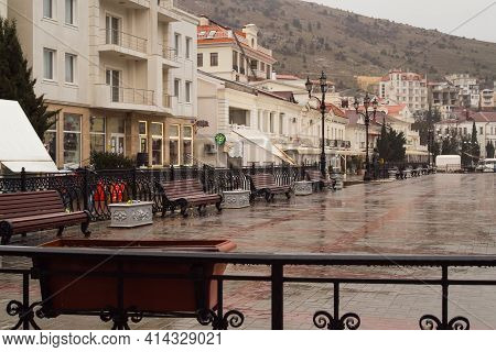 Balaklava Embankment, Crimea.
