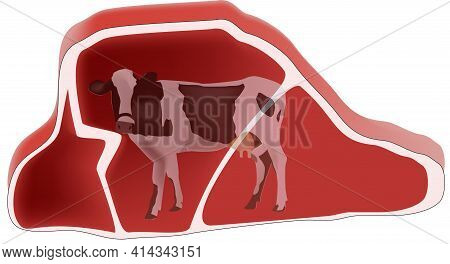 Red Beef Steak Red Beef Steak Red Beef Steak