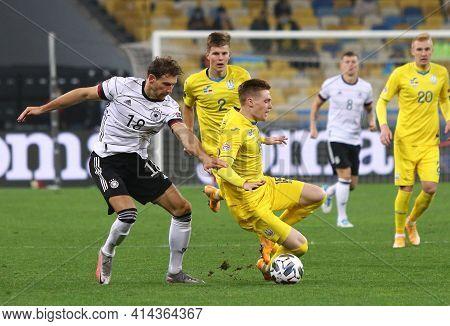 Kyiv, Ukraine - October 10, 2020: Uefa Nations League Game Ukraine V Germany At Nsk Olimpiyskiy Stad